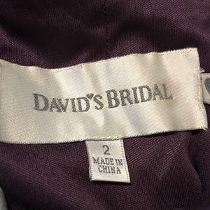 Long Lace Top Dark Purple dress